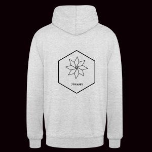 SweatShirt Crystal Grimnir White - Sweat-shirt à capuche unisexe