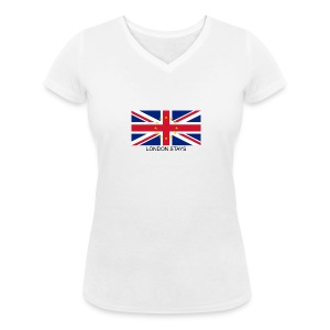 London Stays anti Brexit - Women's V-Neck T-Shirt