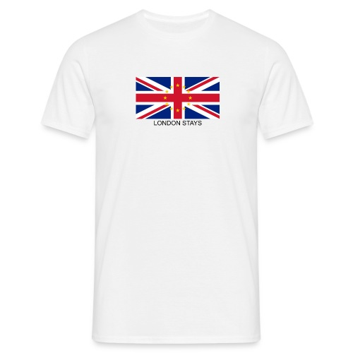 London Stays anti Brexit - Men's T-Shirt