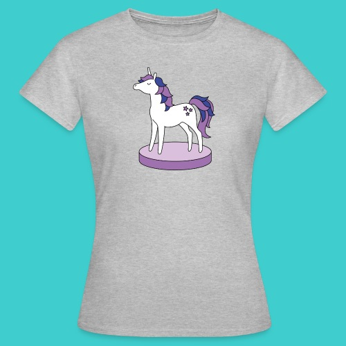 Unicorn paars - Vrouwen T-shirt