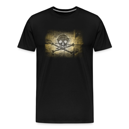 Washed-Pirate-T-Shirt Kollektion 2016/17 - Männer Premium T-Shirt