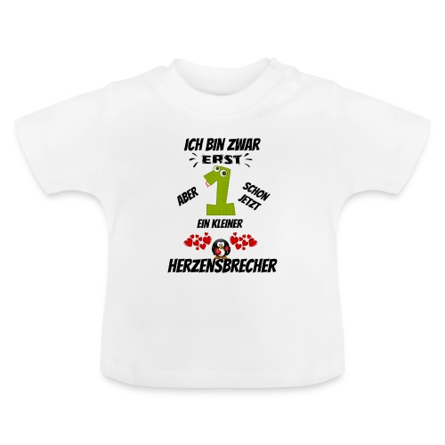 Baby T-Shirt - Erst 1 - Baby T-Shirt