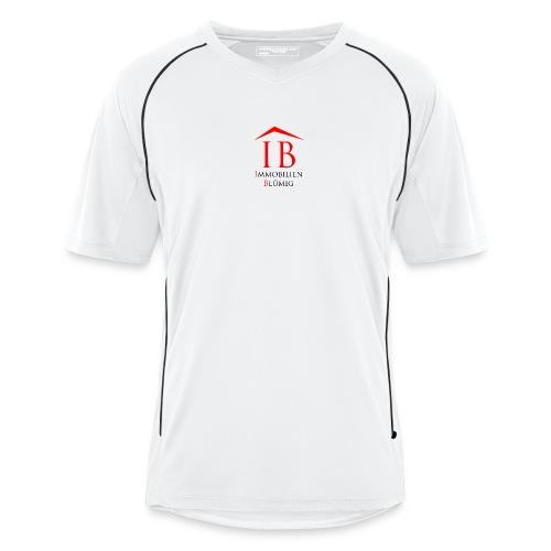 Immobilien Blümig - Sportshirt w/s (Männer) - Männer Fußball-Trikot