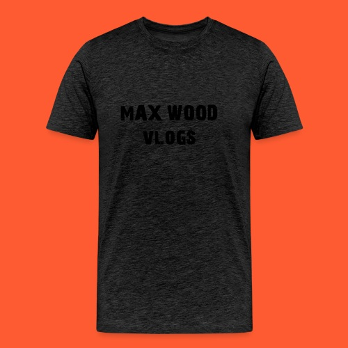 max wood vlogs. - Men's Premium T-Shirt