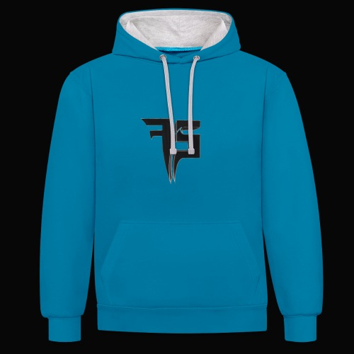 - Contrast Colour Hoodie
