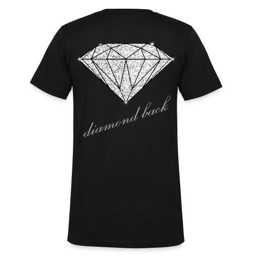 Diamond Back V-Neck - Männer Bio-T-Shirt mit V-Ausschnitt von Stanley & Stella