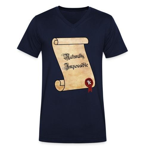 Naturally Impossible V-Neck - Männer Bio-T-Shirt mit V-Ausschnitt von Stanley & Stella