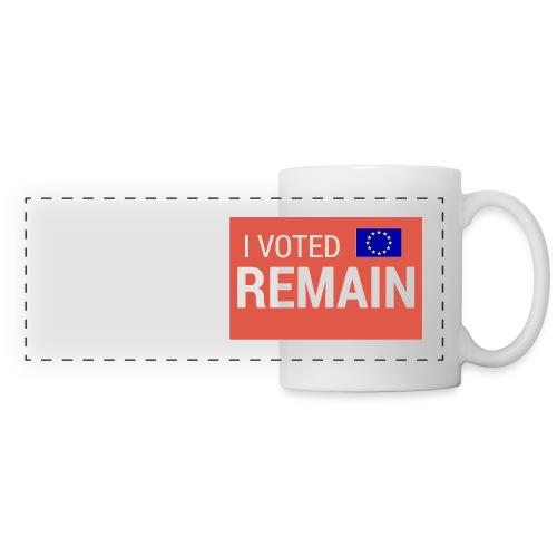 Mug - I Voted Remain - Panoramic Mug