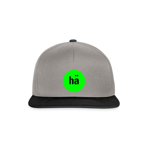 hä, Basecap  - Snapback Cap