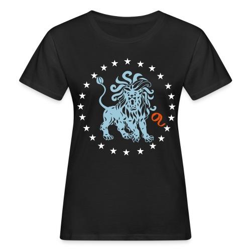 Tee shirt bio femme signe astrologique du Lion - Women's Organic T-Shirt