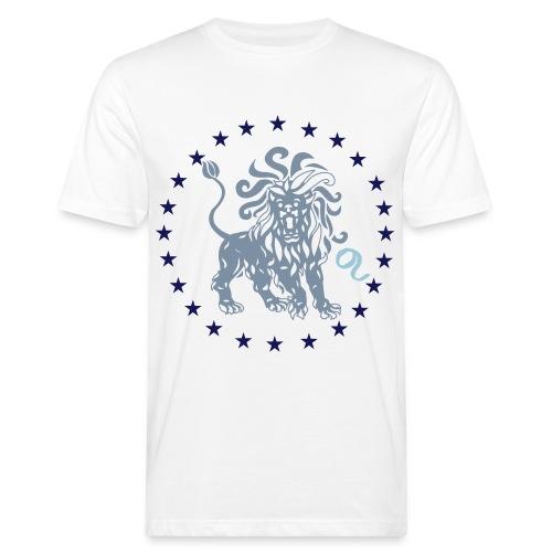 Tee shirt bio Homme signe astrologique du Lion - Men's Organic T-Shirt