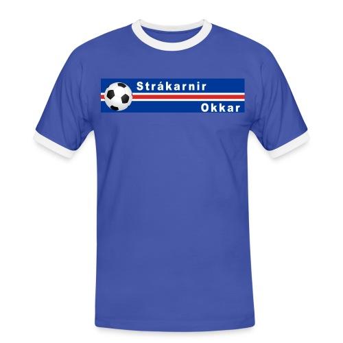 Island Strákarnir Okkar - Men's Ringer Shirt
