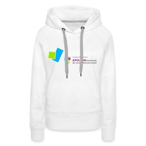 Frauen Premium Kapuzenpullover mit APOLLON Logo - Frauen Premium Hoodie