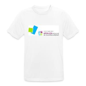 Männer T-Shirt atmungsaktiv mit APOLLON Logo - Männer T-Shirt atmungsaktiv