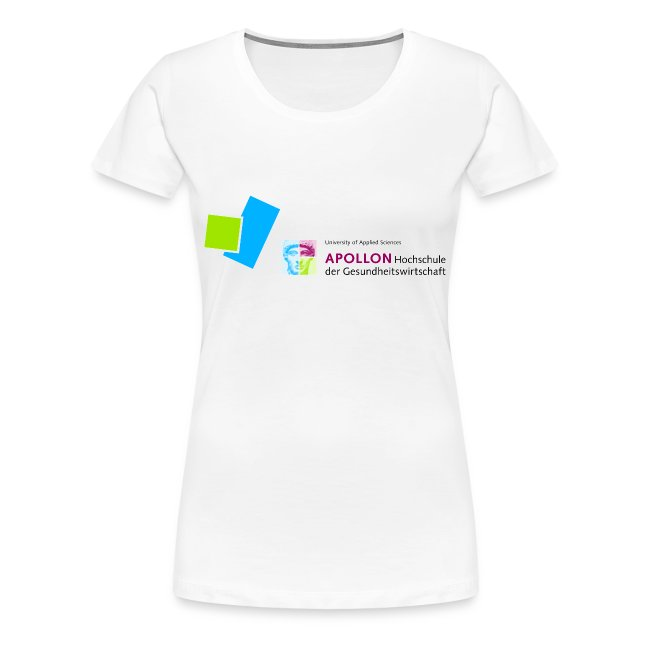 Frauen Premium T-Shirt mit APOLLON Logo