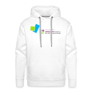 Männer Premium Kapuzenpullover mit APOLLON Logo - Männer Premium Hoodie