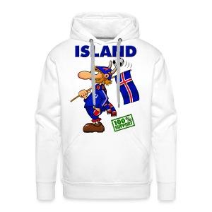Fanshirt Island - sweater vol. 1 - Männer Premium Hoodie