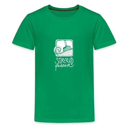 Strandputzer - Teenager Premium T-Shirt kelly green - Teenager Premium T-Shirt