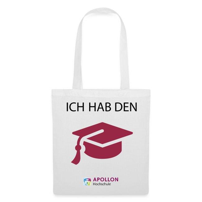 """Stoffbeutel """"Ich hab den Hut"""""""