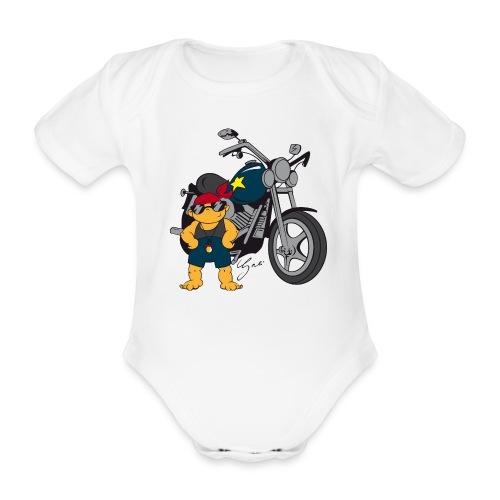 Baby-Biker - Baby Bio-Kurzarm-Body