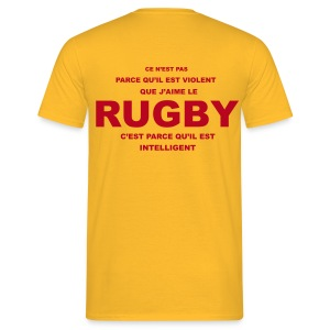 RUGBY VIOLENT - T-shirt Homme