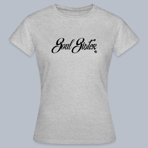 P.T's Soul Sister Black - Women's T-Shirt