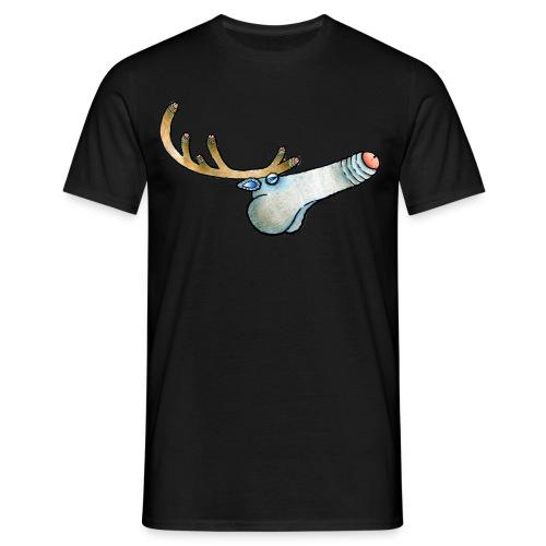 Northern Reideer t-paita miesten - Miesten t-paita