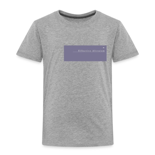 Effective Altruism Tee shirt - Kids' Premium T-Shirt