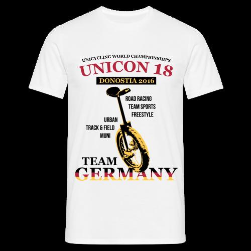 Herren T-Shirt B&C - Digital Direktdruck - Männer T-Shirt