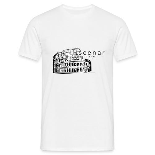 Scena Romana black (ver. bella) - Maglietta da uomo
