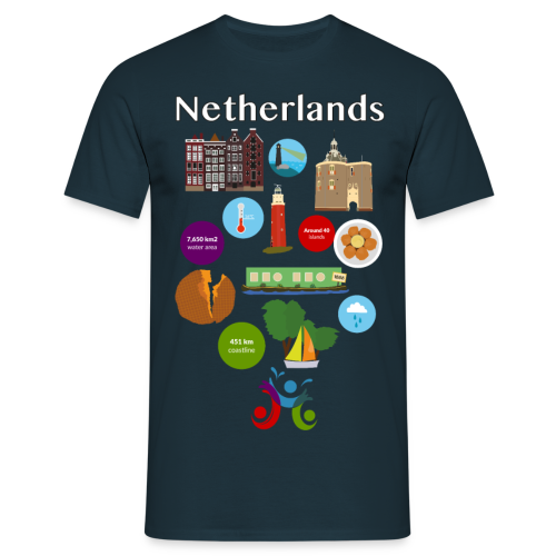 Netherlands - Men's T-Shirt
