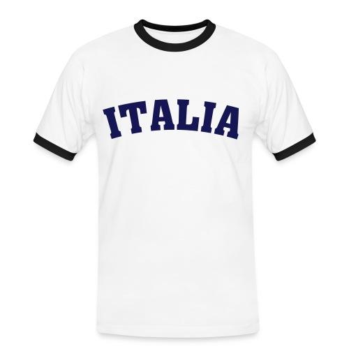 Italien - Männer Kontrast-T-Shirt