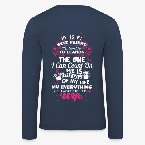 Stolze Ehefrau - Sweatshirt - Kinder Premium Langarmshirt