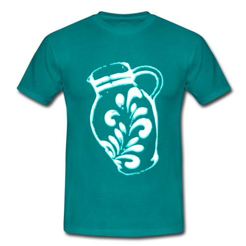Bembel Petrol - Männer T-Shirt