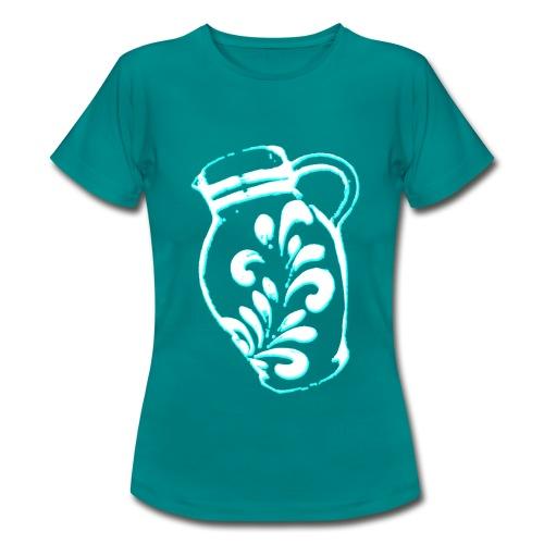 Bembel Petrol - Frauen T-Shirt
