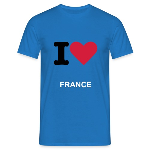I love France - T-shirt Homme