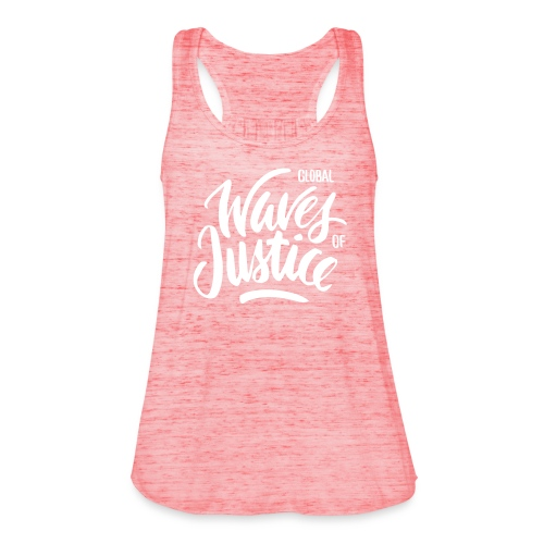Global Waves of Justice - vrouwen - Vrouwen tank top van Bella