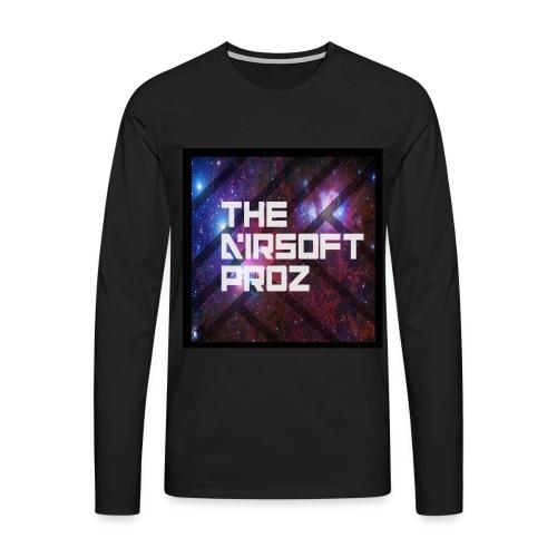 TheAirsoftProz Galaxy Mens Long Sleeve - Men's Premium Longsleeve Shirt