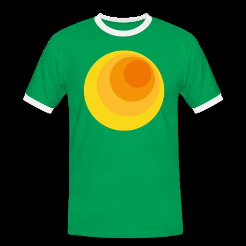 70er Kreis - Männer Kontrast-T-Shirt