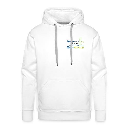 Wasserstadt-Quadrathlon-Hoody - Männer Premium Hoodie