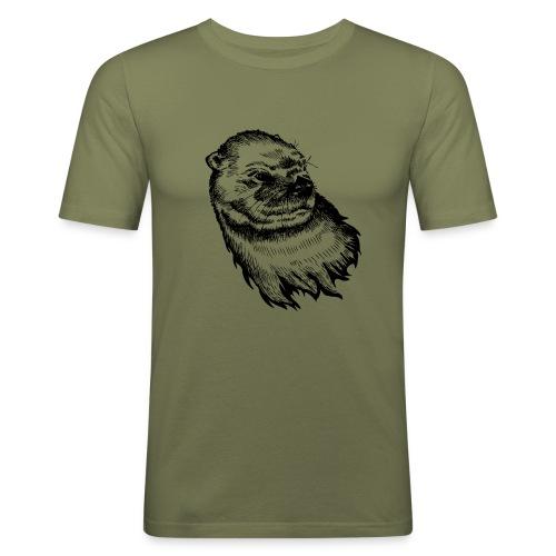 T-shirt Homme - Loutre -  - T-shirt près du corps Homme