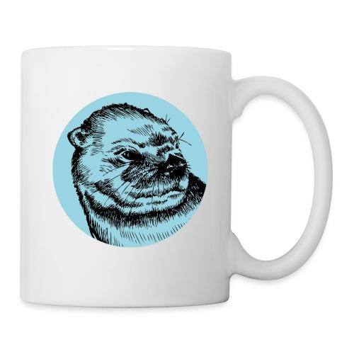 Mug Loutre Bleu - Mug blanc