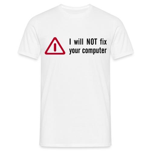 fix pc - Männer T-Shirt