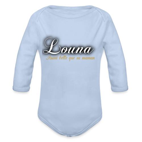 Boby Bébé - Louna  - Body bébé bio manches longues