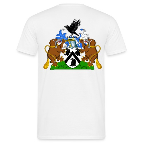 Norreys of Ockwells (Front & Back) - Men's T-Shirt