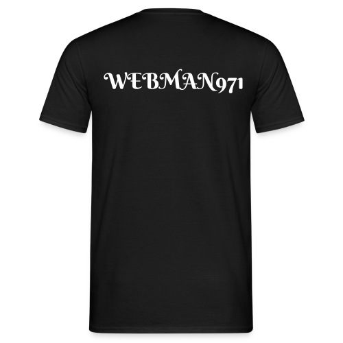 tee-shirt webman971 rouge - Men's T-Shirt