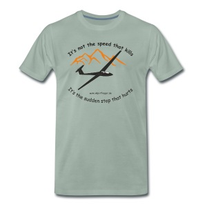 It's not the Speed - Männer Premium T-Shirt