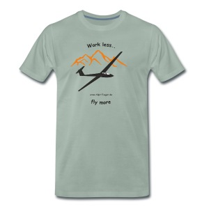 Work less - Männer Premium T-Shirt