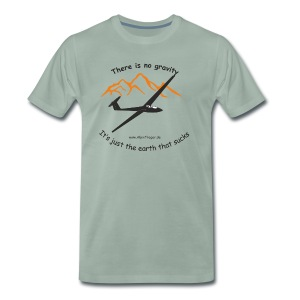 There is so gravity - Männer Premium T-Shirt