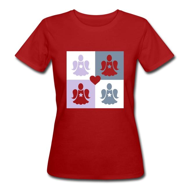 Tee shirt Bio Femme Déclinaison d'anges